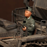 Driver for Sd.Kfz.10/4