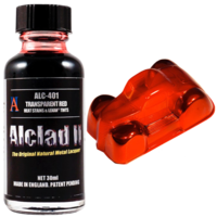 ALC-401 Transparent Red - Heat Stains & Lexan Tints