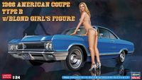 52213 1966 American Coupe Type B w / Blond Girls Figure