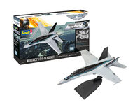 Mavericks F/A-18 Hornet 'Top Gun: Maverick' easy-click system - Model Set - Image 1