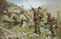 German Brandenburg Troops, Leros 1943 (4 Figures Set)