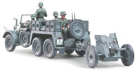 Krupp Protze 1 ton (6x4) Kfz.69 TOWING TRUCK with 3.7cm Pak