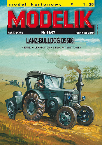 Lanz-Bulldog D9506 German light tractor - Image 1