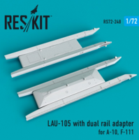 LAU-105 with dual rail adapter (2 PCS) A-10, F-111