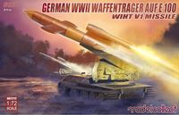 German WWII Waffenträger auf E-100 with V1 Missile - Image 1
