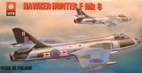 Hawker Hunter F Mk.6 British Jet Fighter