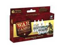 70154 War Games Paint Series - German Infantry Paint Set