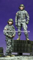 Modern US AFV Crew Set (2 figs)