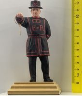 Beefeater with a key