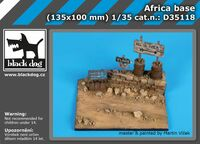 Africa base (135x100mm)