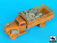 German army truck G917 T accessories set for ICM