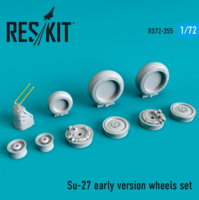 Su-27 wheels  set early version