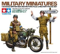 British BSA M20 Motorcycle with Military Police Set - Image 1