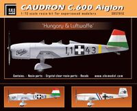 Caudron 600 Luftwaffe & Hungary