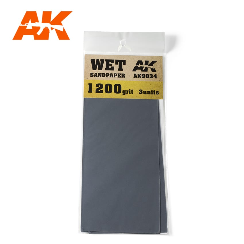 WET SANDPAPER 1200 - Image 1