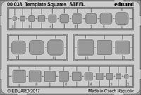Template Squares STEEL - Image 1
