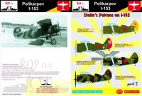 Polikarpov I-153 - Stalins Falcons on I-153 - Image 1