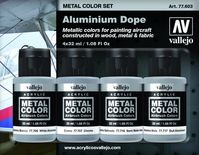 Aluminium Dope Metal Color Set (4)