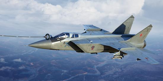 MiG-31 Foxhound B/BM Trumpeter 01680