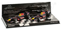 Double Set Red Bull Racing Renault RB6 Constructer World Championship 2010 Limited Edition