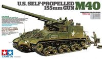 U.S. Self-Propelled 155mm Gun M40