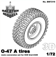 O-47 wheels set for ICM Ural-4320 - Image 1