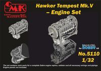 Tempest V Engine Set for Special Hobby kit - Image 1