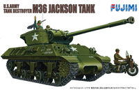 U.S. Army tank Destroyer M36 Jackson Tank