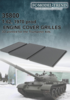 T-62 mod. 1970 engine cover meshes