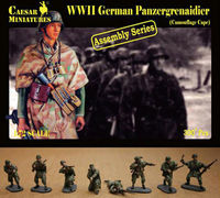German Panzergrenaidier (Camouflage Cape) (ASSEMBLY SERIES) - Image 1