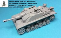 "German WWII StuH 42 ""Mid Version"" for Dragon kit - Image 1"