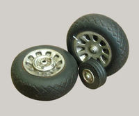 Resin wheels to P-51 Mustang - Image 1