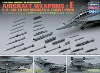 AIRCRAFT WEAPONS E : U.S. AIR-TO-AIR MISSILES & TARGET PODS
