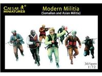 Modern Militia (Somalian and Asian Militia