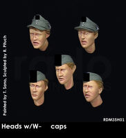 Heads w/W-SS caps (5 pcs) - Image 1