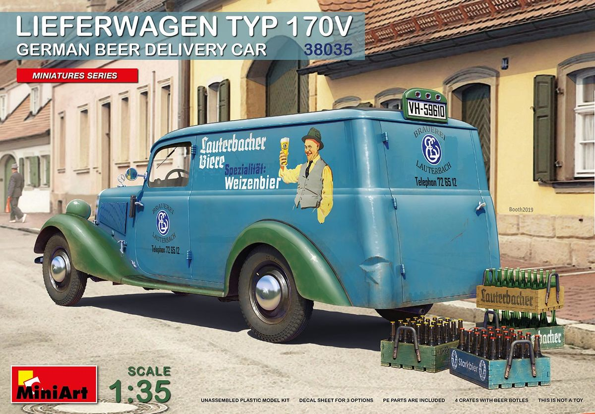 Lieferwagen Typ 170V German Beer Delivery Car - Image 1