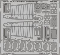 SB2C-5 Helldiver undercarriage   SPECIAL HOBBY - Image 1