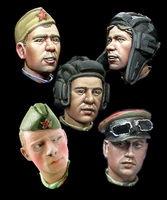 WW2 Russian Heads #2 - Image 1