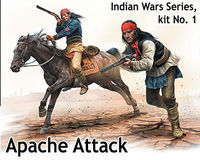 Indian Wars Series, kit No.1. Apache Attack - Image 1