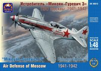 Mikoyan-Gurevich 3 Russian fighter Air Defense of Moscow 1941-1942