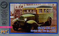Gaz-03-30 m.1933 Soviet city bus