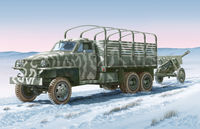 2 1/2 ton 6×6 Lend Lease Truck with ZIS-3