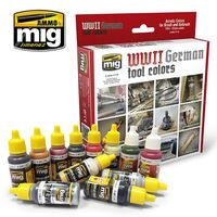 A.MIG 7179 WWII GERMAN TOOL COLORS SET