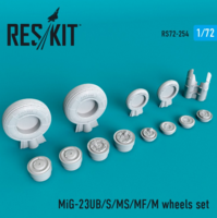 MiG-23 (UB/S/MS/MF/M) wheels set