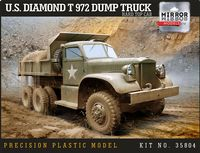 U.S. Diamond T 972 Dump Truck Hard Top Cab - Image 1