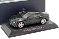 BENTLEY CONTINENTAL GT 2018 British Racing Green