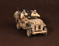 Crew of the Jeep SAS. North Africa.1941-42 #3 2 figures