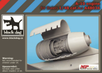 A-10 engine for Italeri