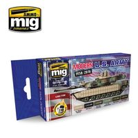 A.MIG 7159 Modern USA Army Colors Set