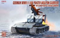 German WWII E-100 panzer weapon carrier with Rheintochter 1 missile launcher - Image 1